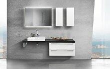 Design Badezimmer Set mit Waschbecken und