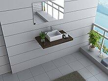Design Badmöbel Set AUSTRALIA Waschtisch mit Waschbecken Canberra 80 cm breit 3 Dekore zur Wahl