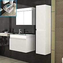 Design Badmöbelset Waschbecken mit Unterschrank &