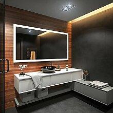 Design Badspiegel mit LED Beleuchtung von Artforma