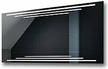 Design Badspiegel mit LED Beleuchtung von Artforma | Wandspiegel Badezimmerspiegel |Spiegel nach Maß