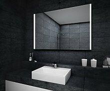 Design Badspiegel mit LED Beleuchtung Wandspiegel Badezimmerspiegel nach Maß