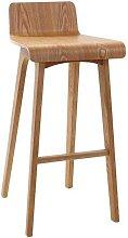 Design-Barhocker / -stuhl Holz naturell