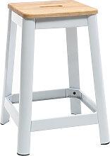 Design-Barhocker Weiß H 65 cm NICK