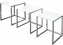 Design Beistelltisch 3er Set ELEMENTS 40cm