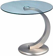 """Design Beistelltisch Ablagetisch Tisch Modern Couchtisch Glastisch Möbel """"Egor"""