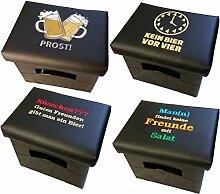 Design BierEx Bierkasten Sitz Bierkastensitz für