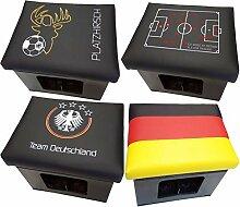 Design BierEx Bierkasten Sitz Platzhirsch Fußball