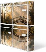 Design Briefkasten Anlage 4 Briefkästen Mailbox