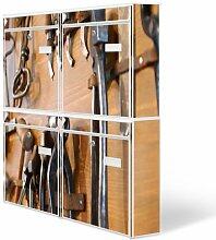 Design Briefkasten Anlage 4 Briefkästen Mailbox mit Motiv: Werkbank