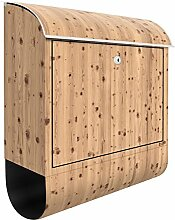 Design Briefkasten Antik Whitewood 39x 46x