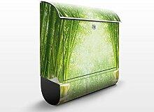 Design Briefkasten Bamboo Way | Bambus Asien Grün