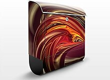 Design Briefkasten Fantastic Burning | Feuer