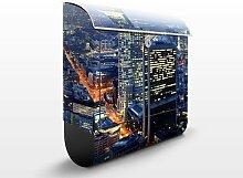 Design Briefkasten Frankfurt 39x46x13cm