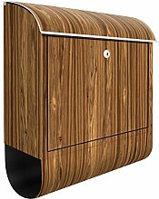 Design Briefkasten Macauba 39x 46x 13cm, Maße: 46x 39cm