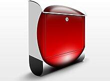 Design Briefkasten Magical Red Ball | Popart Ball