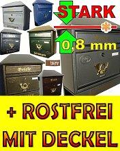 Design Briefkasten W / a Design Briefkästen mit