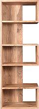 Design-Bücherregal aus Akazienholz 60 cm CHAPMAN