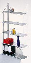 Design Büroregal Anbau-Element Theo Kerkmann