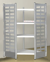 Design Büroregal Theo Kerkmann M2 4 Boden 180 cm