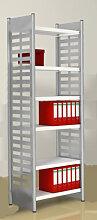 Design Büroregal Theo Kerkmann M2 6 Boden 260 cm