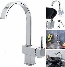 Design Chrome Einhebel Wasserhahn Armatur /