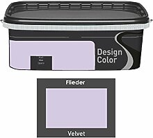 Design Color 2,5 L. farbige Innenfarbe, Wandfarbe Flieder, Velvet, Ma