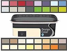 Design Color 2,5 L. farbige Innenfarbe, Wandfarbe Lavendel, Lawenda, Lila, Ma