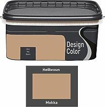 Design Color 5 L. farbige Innenfarbe, Wandfarbe,