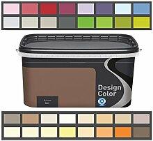 Design Color 5 L. farbige Innenfarbe, Wandfarbe Lavendel, Lawenda, Lila, Ma