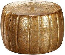 Design Couchtisch in Goldfarben lackiert 60 cm