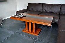 Design Couchtisch Tisch S-444 Kirschbaum getöntes