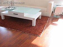 Design Couchtisch Tisch V-470H Weiß mit Milchglas