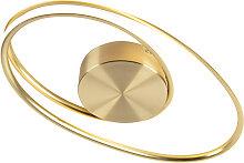 Design Deckenleuchte Gold inkl. LED 3-Stufen