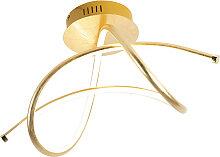 Design Deckenleuchte Gold inkl. LED - Viola