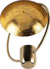 Design Deckenleuchte Gold mit Schwarz - Cosmo