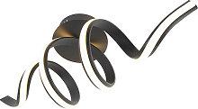 Design Deckenleuchte schwarz dimmbar inkl. LED -