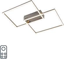 Design Deckenleuchte Stahl inkl. LED mit