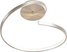 Design Deckenleuchte Stahl inkl. LED - Onda rund