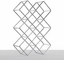 DESIGN DELIGHTS WEINFLASCHENHALTER Quadrat  