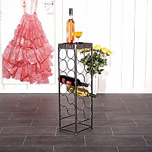 DESIGN DELIGHTS WEINREGAL Provence 78 cm Metall