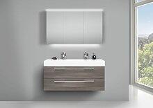 Design Doppelwaschtisch Badezimmer Set mit