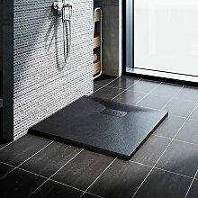 Design Duschwanne 80 x 80 Duschtasse Flach mit