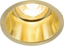 Design Einbaustrahler gold - Abt.