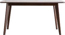 Design-Esstisch 150 cm Schokofarben LEENA