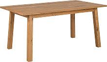 Design-Esstisch ausziehbar Holz L160-205 HONORE