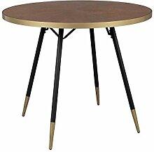 Design Esstisch, Holz und Metall Denise