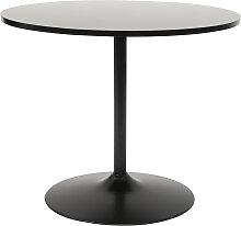 Design-Esstisch rund Schwarz 90 cm CALISTA ?