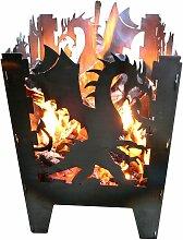 Design Feuerkorb Drache