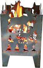 Design Feuerkorb Elch